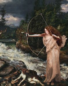 Artemis Greek goddess of hunting and night