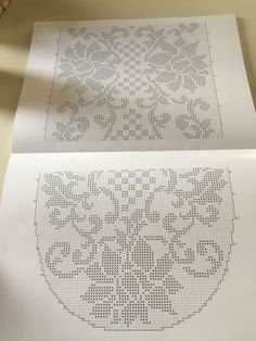 Crochet Table Runner Pattern, Crochet Doily Diagram, Filet Crochet Charts, Crochet Doily Patterns, Crochet Cross, Crochet Tablecloth, Crochet Poncho, Thread Crochet, Crochet Dolls