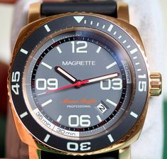 Magrette Moana Pacific Professional Watch Review   magrette