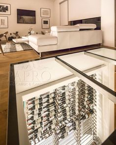 If you are looking for stylish modern wine cellars for your home that give a minimalist feel then installing an underground modern wine cellar is the best idea for your wine collection. Check out the modern wine cellars by Papro Wine Cellars and Consulting.