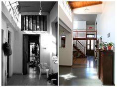Taller Suburbano: Obra: Reciclaje de una Casa 'Chorizo'.-