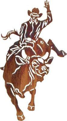 ไม้เหล็กฉลุลายสวยๆสั่งทำกับเราได้ที่ Line : signdd ค่าาาาาาา    Metal Wall Art - Steamroller (Bull Rider) Wall Mount Hanging Metal Wall Art