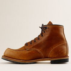 RED WING® FOR J.CREW BECKMAN MOC-TOE BOOTS item 49585