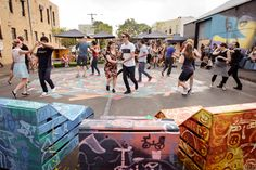 In Brunswick, Australia, a pop-up park became the catalyst for the creation of a permanent public space fit with grass, trees, seating, and a climbing wall. Clearly, #LQC interventions are a great tool for building momentum around a project of #Placemaking and turning public space dreams into a reality.