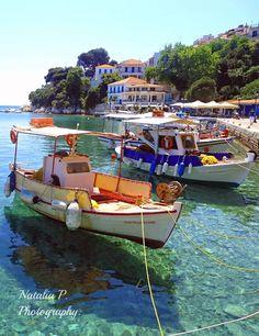 Old Port, Skiathos GREECE .