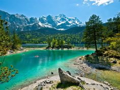 Lake Eibsee, Germany