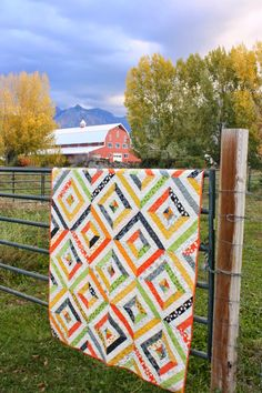 Diary of a Quilter Fabulously Fast Quilts - Diverging Diamonds