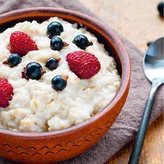 Oats with Quinoa and Blueberries - Shape.com