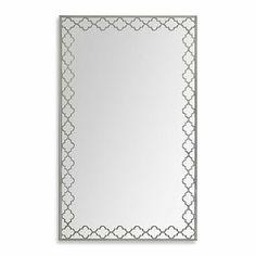 Ren-Wil Dubai 41-Inch x 26-Inch Mirror - BedBathandBeyond.com