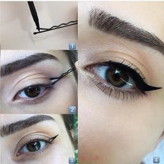 Cat Eye Makeup tutorial by poplalla - #makeup #cosmetics #lashes #beauty