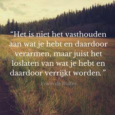 @ErwinDeRuiter / Forihaveseen.nl #Loslaten Forihaveseen.nl