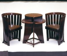 Stained Oak Domino Table (ca. 1907) | Mackintosh, Charles Rennie | VandA Collections