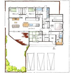 House Layouts, Floor Plans, How To Plan, Architecture, Home, Instagram, Arquitetura, Architecture Illustrations, Haus