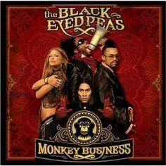 "The Black Eyed Peas - ""Monkey Business"" (2005). Members: William James Adams aka ""Will.i.am"", Allan Pineda aka ""apl.de.ap"", Jaime Luis Gómez aka ""Taboo"", Stacy Ferguson aka ""Fergie  Clutch Cargo ~ w/ N.E.R.D"