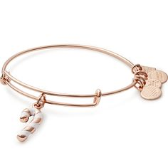 Alex and Ani candy cane charm bangle, proceeds benefit Give Kids the World Village Cheer • Playful • Sweet
