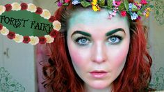 Halloween is only 10 days away! So here is a cute little forest fairy tutorial for all my fellow halloweeners who aren't fans of the scary/gory looks. Forest Fairy, Halloween 2015, Youtube, Woodland Fairy, Youtubers, Youtube Movies