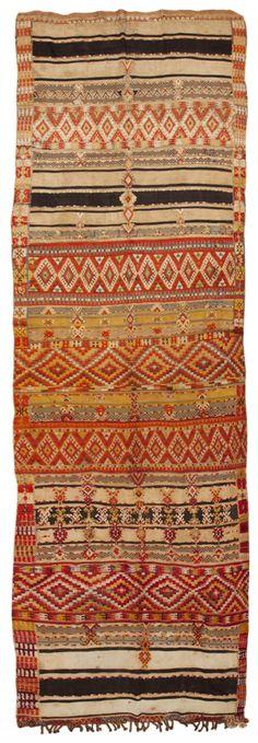Vintage Moroccan Rug #45411  http://nazmiyalantiquerugs.com/antique-rugs/moroccan-rugs-vintage-carpets/