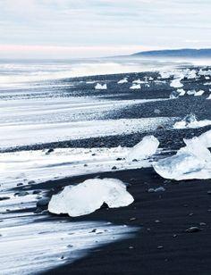 Black Sandy Beaches