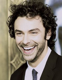 Aidan Turner being his lovely, adorable, happy-go-lucky self.
