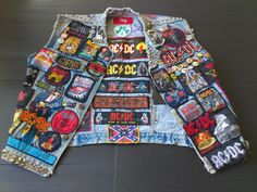 This is My Old Scruff Jacket From the 80's