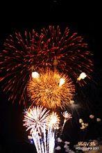 Quincy, Wa Balloon Festival Fireworks.