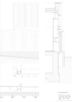 Since 1998 the Web Atlas of Contemporary Architecture Contemporary Architecture, Architecture Details, Helene Binet, Nottingham Contemporary, Detailed Drawings, Floor Plans, Building, Architects, Projects
