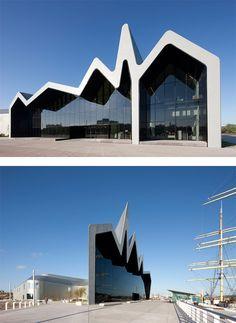 Riverside Museum of Transport by Zaha Hadid