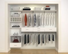 I Like The Sleek, Modern, Clean, Organized Closet.
