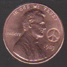 1983 HIPPIE Birth Year Coin