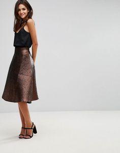 0daad1498 Las 55 mejores imágenes de Women's Skirts :: Bell-shaped skirt (Asos ...