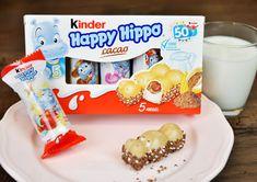 Mit feiner Milch- und Kakaocreme und leckerer Knusperwaffel zaubern Happy Hippos jedem ein Grinsen ins Gesicht.