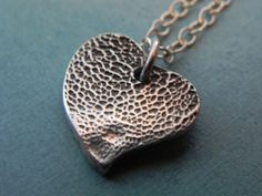 Dog Paw Print Personalized Silver Heart Charm by LilyBuds on Etsy, $50.00