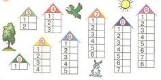 numbers from 1 to Addition and subtraction- числа от 1 до Сложение и вычитание numbers from 1 to Addition and subtraction - Montessori Math, Preschool Math, Teaching Math, Math Games, Preschool Activities, Summer School Programs, Numicon, Dora, Kids Math Worksheets