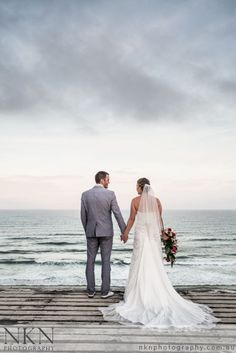 Wedding of Melissa & Travis at Double Island Point, Queensland - NKN Photography
