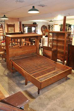 antique oak murphy fold out hide a bed fold down murphy bed bed hidden bed murphy bed. Black Bedroom Furniture Sets. Home Design Ideas