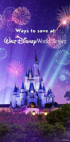 Ways to save at Walt Disney World Resort! #vacation #tips #tricks