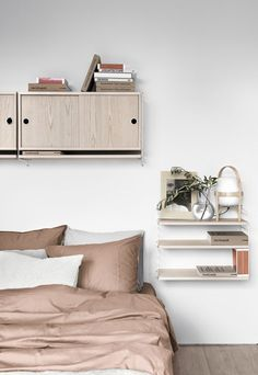 New shelving inspiration from String | These Four Walls blog