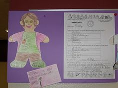Community workers.  Create paper doll and business card after completing planning sheet.