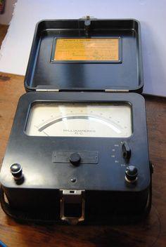 Vintage Weston DC Milliammeter Model 622/Farnswort…