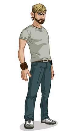 LOST: The Animated Series by Michael Myers, via Behance