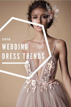 Wedding Dresses   Wedding Dress Trends 2018   Wedding Dresses 2018   Pink Wedding Dress   Tulle Wedding Dresses   A Line Wedding Dress   Boho   Ball Gown Dresses   Princess Wedding Dress