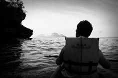 Kayaking in Railay, Thailand.