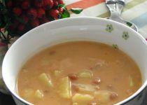 Fazolova kysela polevka Czech Recipes, Ethnic Recipes, Cheeseburger Chowder, Thai Red Curry, Quinoa, Cooking, Soups, Treats, Bulgur