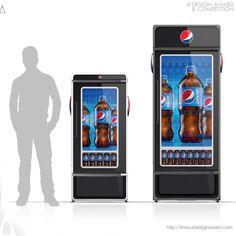 Pepsi smart cooler. Pepsico Design #adesignaward