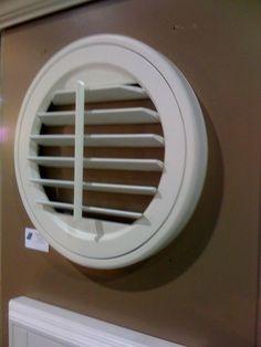 Round window covering idea