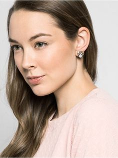 Crystal Flurry Studs Earring | BaubleBar