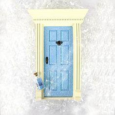 'Lil Fairy Doors (Sparkle Blue)
