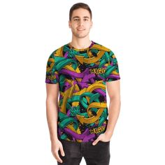 Most Stylish Men, Stylish Man, Arrow T Shirt, Graffiti Designs, Best T Shirt Designs, Cool T Shirts, Street Wear, Short Sleeves, Arrows