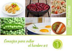 Consejos para evitar el hambre #1 #NutricionistaLima