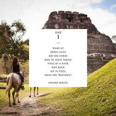 Four Perfect Days at Ka'ana Belize: Day 1 #xoBelize
